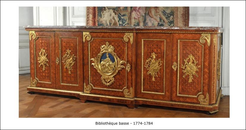 Bibliothèque basse 1774-1784