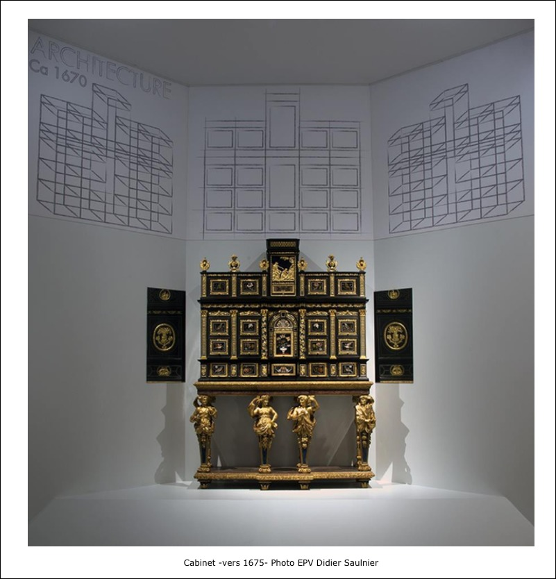 Cabinet vers 1675 – Photo EPV Didier Saulnier