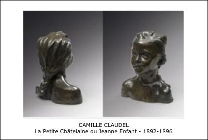 Camille Claude – La Petite Châtelaine ou Jeanne Enfant