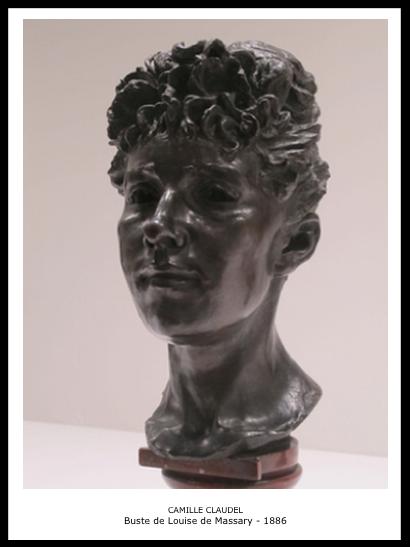 Camille Claudel – Buste de Louise de Massary – 1886