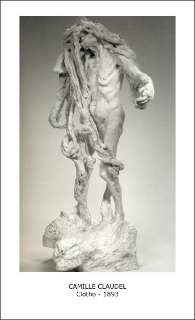 Clotho par Camille Claudel -1893