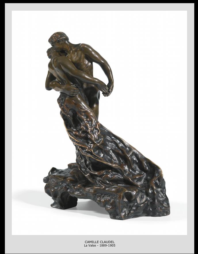 Camille Claudel – La valse – 1889-1905