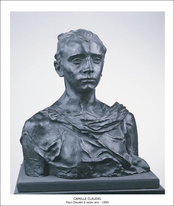 Camille Claudel – Paul Claudel à seize ans 1895