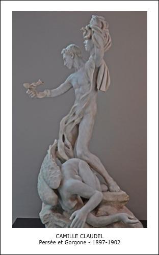 Camille Claudel – Persée et Gorgone 1897 – 1902