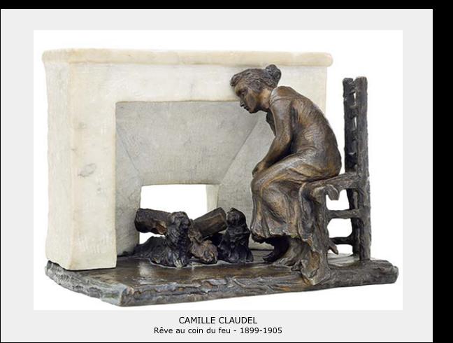 Camille Claudel – Rêve au coin du feu 1899-1905