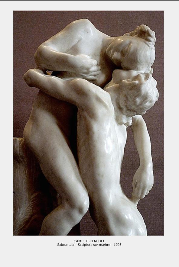 Camille Claudel – Sakountala sculpture marbre 1905