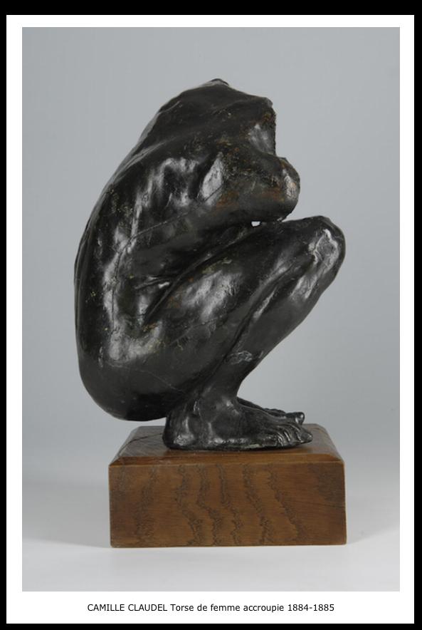 Camille Claudel – Torse de femme accroupie 1884-1885