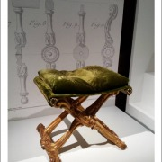 Chaise a chassis par Delanois - Vers 1770