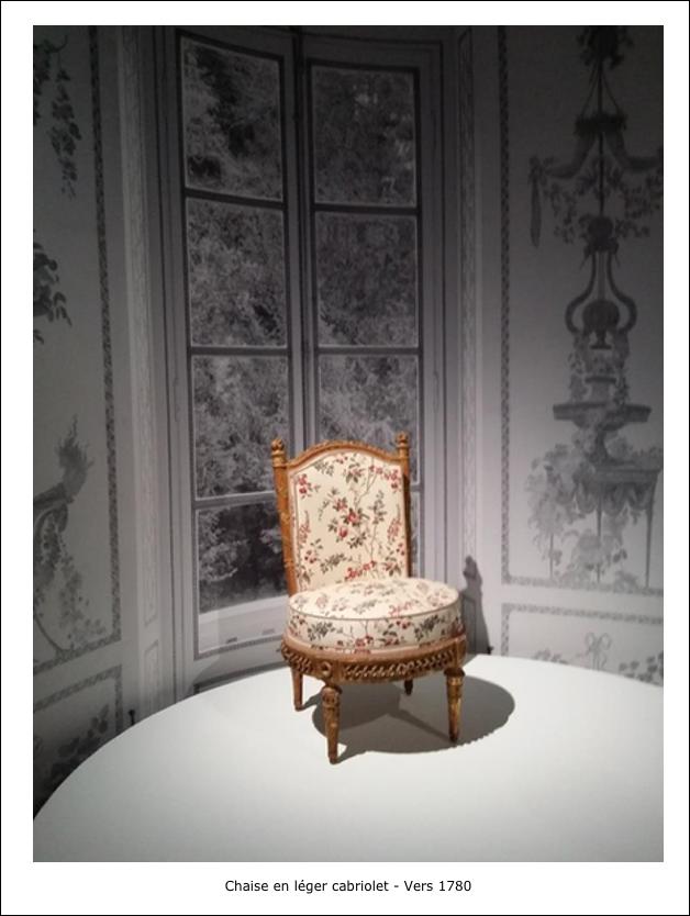 Chaise en léger cabriolet – Vers 1780