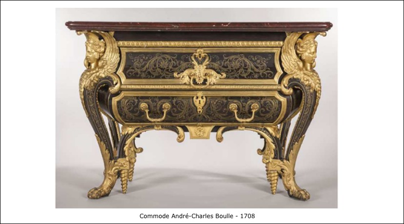Commode André-Charles Boulle – 1708