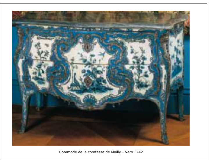 Commode de la comtesse de Mailly – Vers 1742