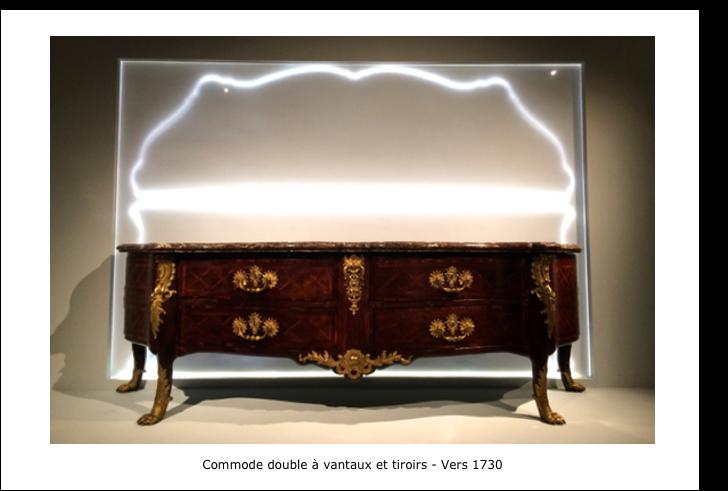 Commode double à vantaux et tiroirs – Vers 1730