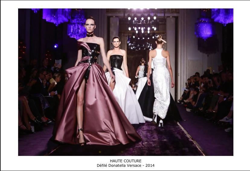 Défilé Haute couture Donatella Versace-2014