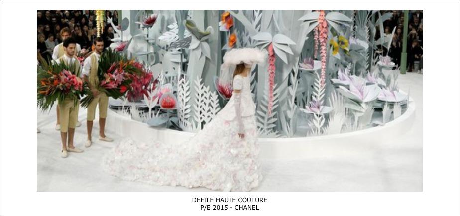 Défilé Haute couture – PE 2015-Chanel