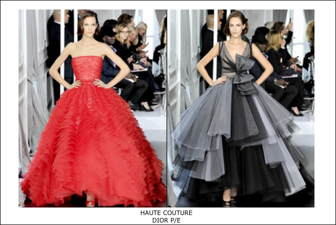 Haute couture Dior PE-2012