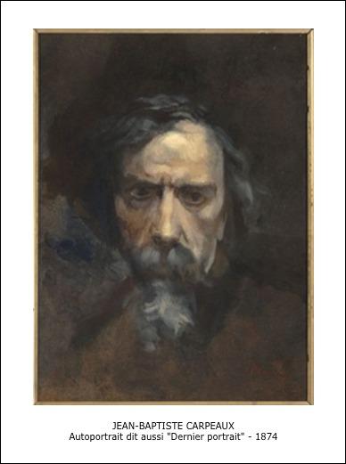 Jean-Baptiste Carpeaux – Autoportrait dit aussi dernier portrait – 1874