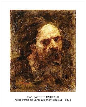 Jean-Baptiste Carpeaux – Autoportrait dit carpeaux criant de douleur