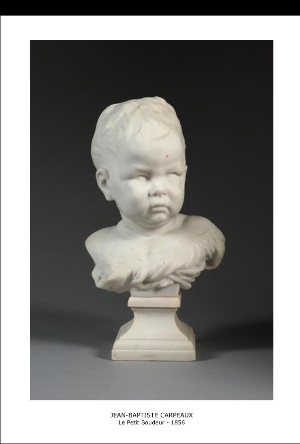 Jean-Baptiste Carpeaux – Le petit boudeur – 1856