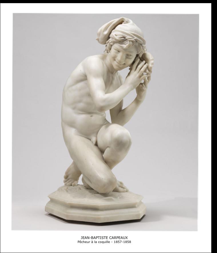 Jean-Baptiste Carpeaux – Pêcheur a la coquille – 1857-1858