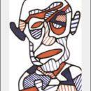 Jean Dubuffet – Autoportrait