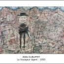 Jean Dubuffet – Le Voyageur égaré – 1950