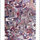 Jean Dubuffet – Le site illusoire – 1963