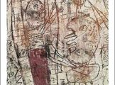 Jean Dubuffet – Paysage grotesque – 1949