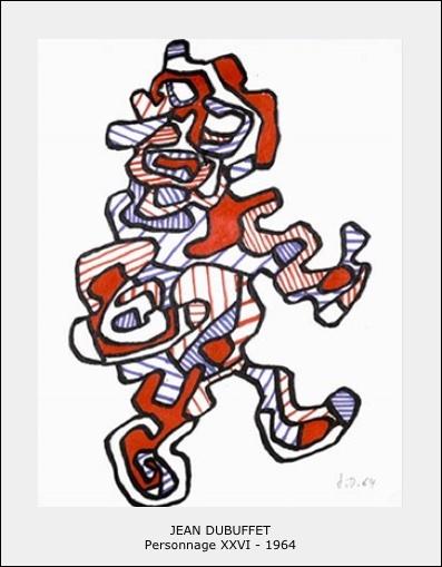 Jean Dubuffet – Personnage XXVI – 1964