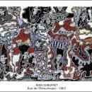 Jean Dubuffet – Rue de l'Entourloupe – 1963