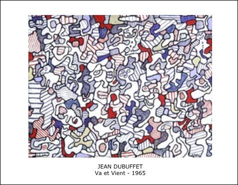 Jean Dubuffet – Va et Vient – 1965