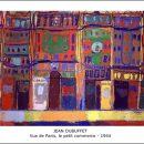 Jean Dubuffet – Vue de Paris, le petit commerce – 1944