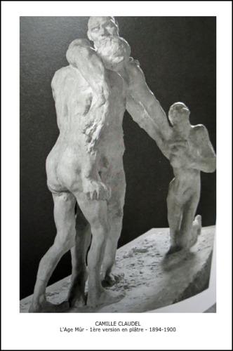 L'Age Mûr - 1ère version en plâtre - 1894-1900 - Camille Claudel