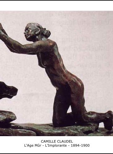 L'Age Mûr - L'Implorante - 1894-1900 - Camille Claudel