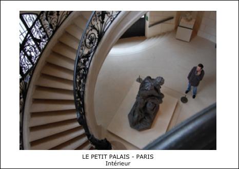 Le Petit Palais – Paris – Interieur