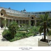 Le Petit Palais - Paris - Jardin interieur