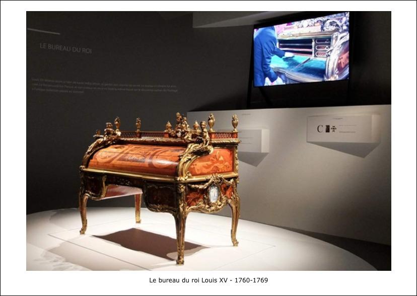 Le bureau du roi Louis XV – 1760-1769