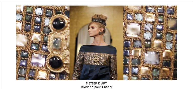Métier d'art – Broderie pour Chanel