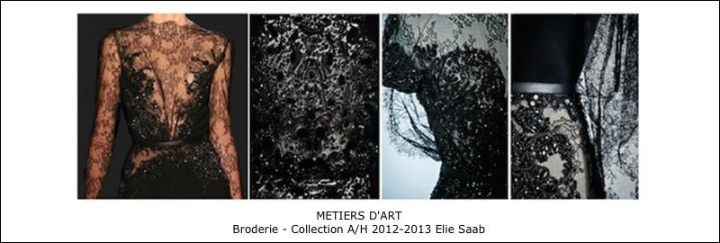 Broderies – Haute couture Elie Saab