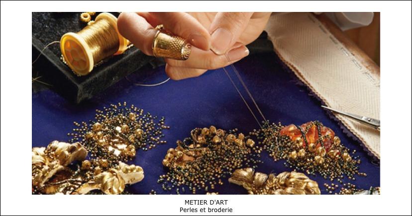 Métiers d'art – Perles et Broderie
