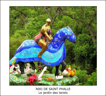 Niki de Saint Phalle – Le jardin des tarots