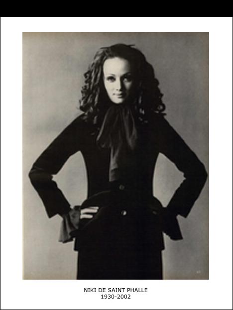 Niki de Saint Phalle – 1930-2002