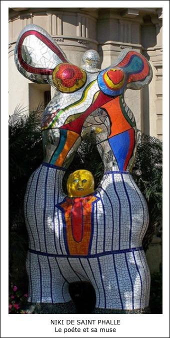 Niki de Saint Phalle – Le poète et sa muse