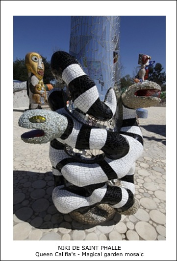 Niki de Saint Phalle – Queen Califia s Magical garden