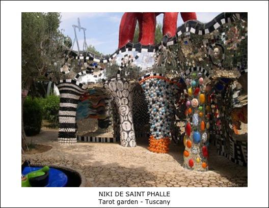 Niki de Saint Phalle – Tarot garden – Tuscany