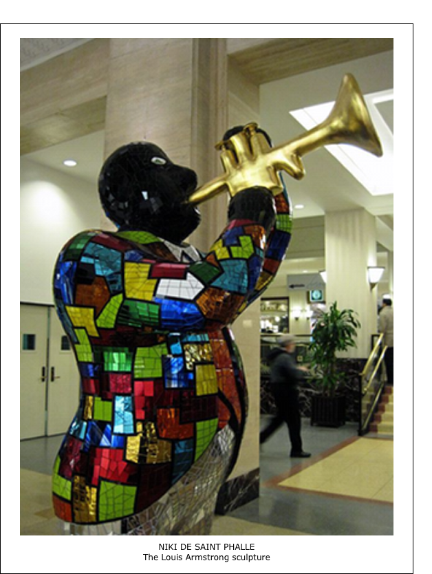 Niki de Saint Phalle – The Louis Armstrong sculpture
