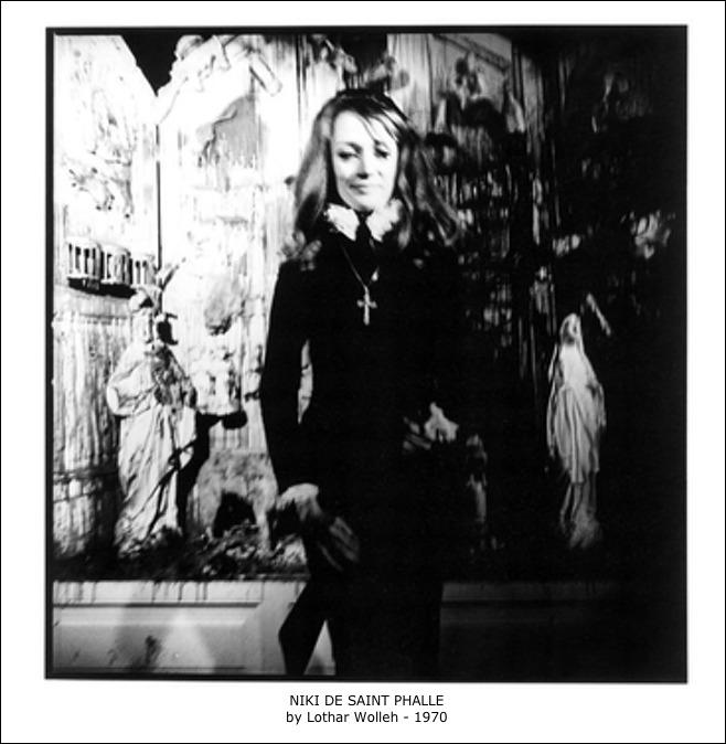 Niki de Saint Phalle by Lothar Wolleh – 1970