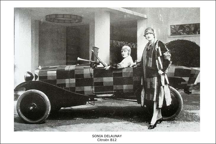 Sonia Delaunay – Citroën B12