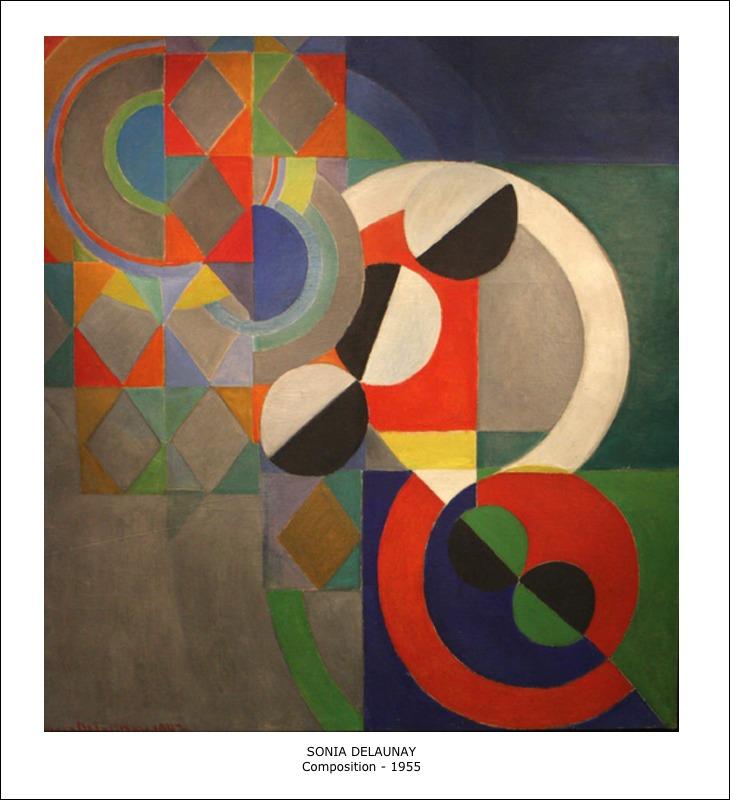Sonia Delaunay – Composition – 1955
