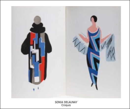 Sonia Delaunay – Croquis
