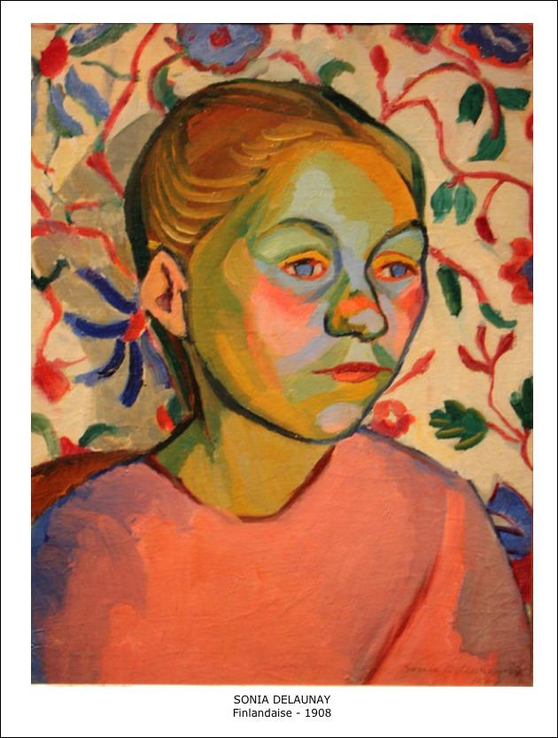 Sonia Delaunay – Finlandaise – 1908